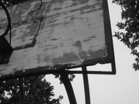 Dettaglio tabellone danneggiato