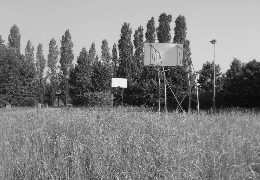 Campo all'aperto dell'Istituto Foscari, Mestre - Venezia