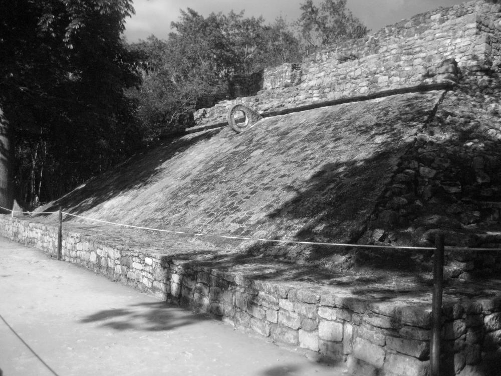 Campo allenamento sito Maya di Cobà