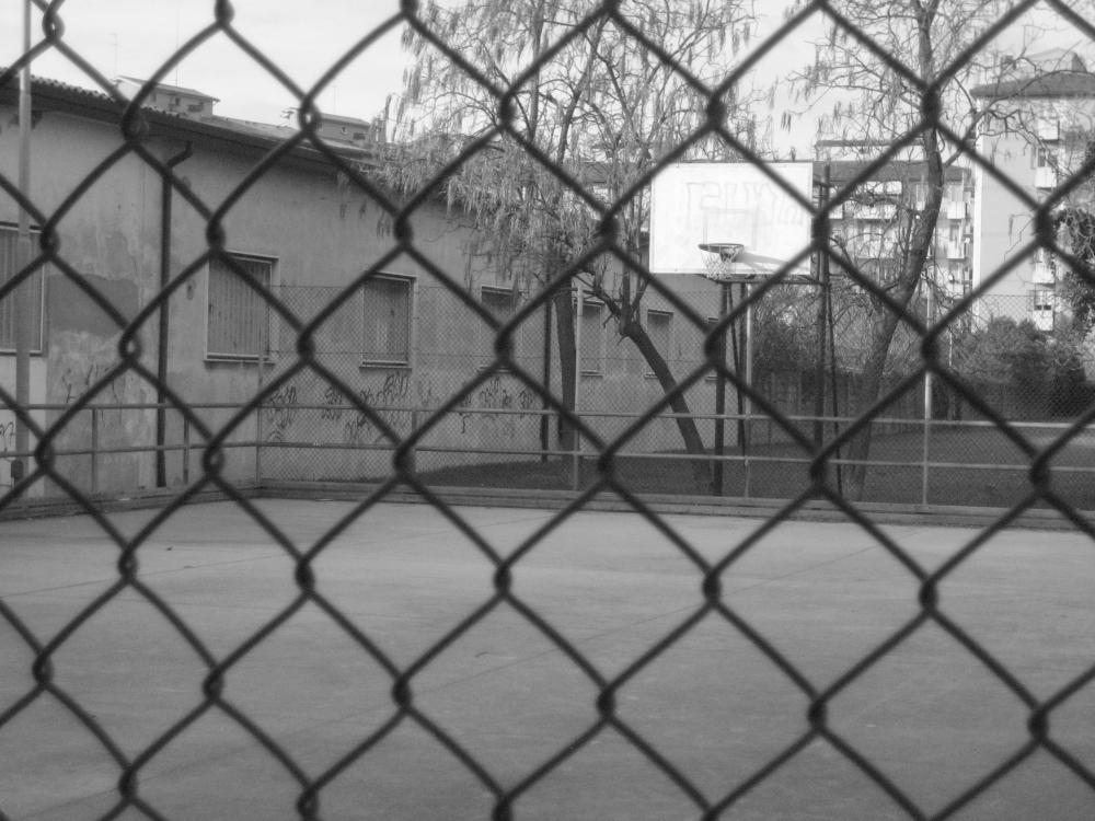 Campo  da basket via Cattani Marghera, Venezia
