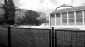 Campo da basket a Sarajevo