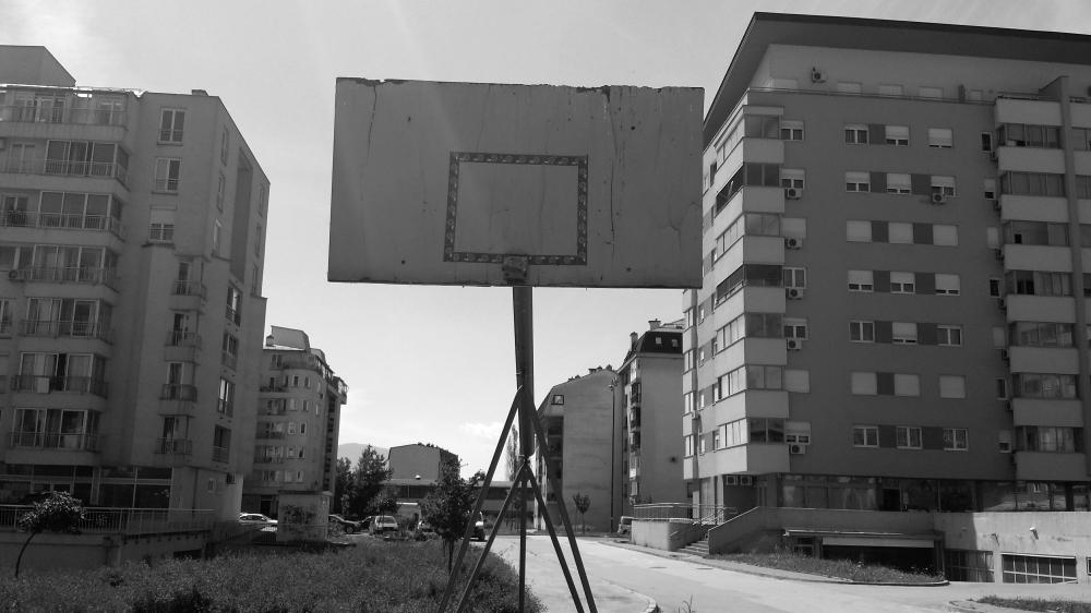 Tabellone a Sarajevo