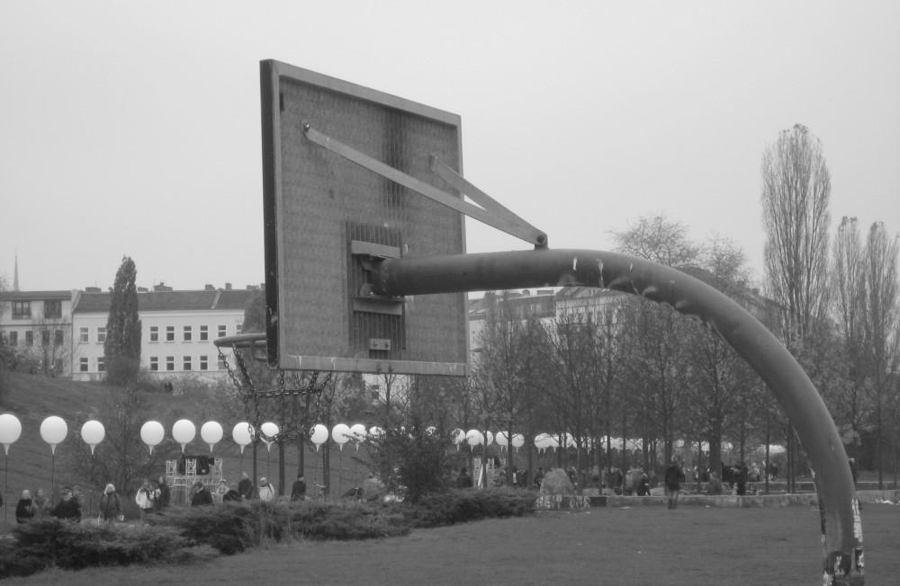 Canestro a Mauerpark Berlino