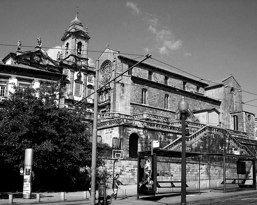 Rua do infante D. Henrique Oporto